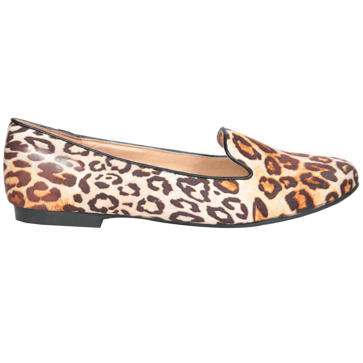 Leopard Print Flat Slipper Shoe Preview